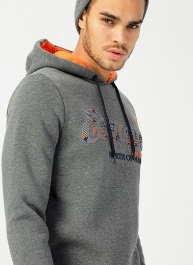 North Of Navy Sweatshirt Antrasit
